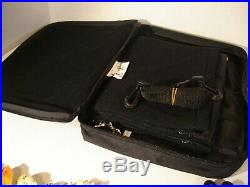 Walt Disney World 2000 Pin Traders Bag/Case, 58 Pins/Nameplate, & 2 Lanyards Lot