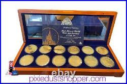 Walt Disney World 50th Anniversary 12 Coin Set-Limited Edition