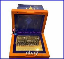 Walt Disney World 50th Anniversary Golden Ticket Limited Edition