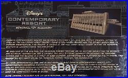 Walt Disney World CONTEMPORARY Resort Monorail Theme Park Play Set Accessory Toy