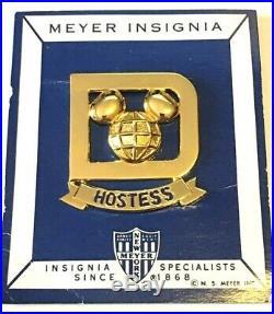 Walt Disney World Cast Member Hostess Badge (NOC)