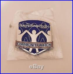 Walt Disney World Community Watch Security Guard Pin Badge Button Cast Member