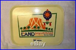Walt Disney World Epcot The Land Pavillion Food Tray Prop Theme Park Used