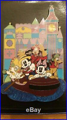 Walt Disney World Harmony Kingdom It's A Small World (GWP) Jumbo Pin LE 250