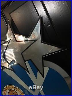 Walt Disney World MGM Studios Theme Park Sign Prop Mirror rare