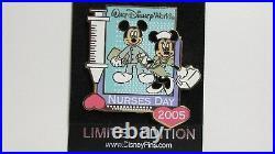 Walt Disney World Mickey and Minnie 2005 Nurses Day Pin -Limited Edition of 2500