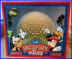 Walt Disney World Monorail Spaceship Earth Earth Original Theme Park Exclusive