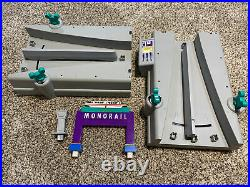 Walt Disney World Monorail Switching Station Playset Theme Park INCOMPLETE