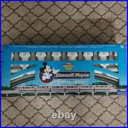 Walt Disney World Monorail Teal Playset Mickey Mouse Theme Park Edition Tested