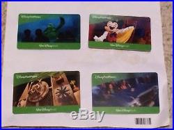 Walt Disney World One (4)1 Day Park Hopper Pass/Ticket All Four (4) Theme Parks