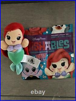 Walt Disney World Parks Wishables Little Mermaid Ariel New With Bag 2019 LR