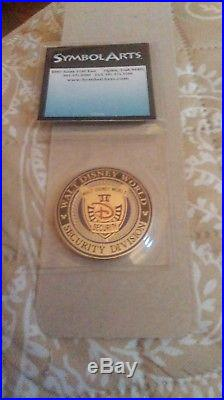 Walt Disney World Protecting The Magic Security Division Challenge Coin RARE