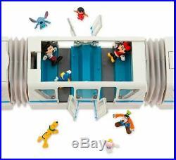 Walt Disney World Resort Monorail Play Set 5 Cars, 14' Track Lights Sounds NEW