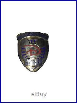Walt Disney World Security Hat Badge