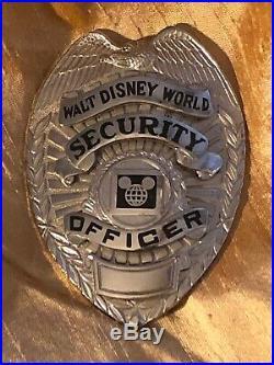 Walt Disney World Security Officer Badge never issued
