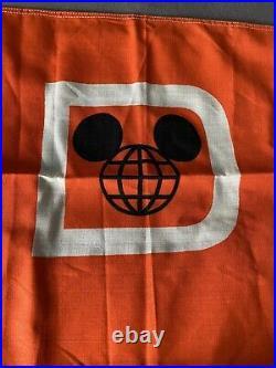 Walt Disney World Theme Park Used Boat Flag! Ultra Rare! Southern Seas boat