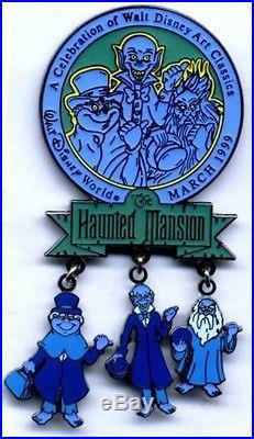 Walt Disney World WDAC 1999 Haunted Mansion Dangle (on card) (mint, new)