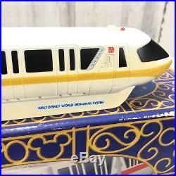 Walt Disney World WDW Theme Park Collectible Monorail Working