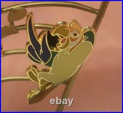 Walt Disney's 50th Anniversary Enchanted Tiki Room Pin Set Disneyland LE 250 NWT