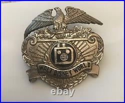 Walt disney world security badge