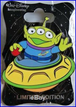 Wdi D23 Disney Alien Swirling Saucers Little Green Man Toy Story Land Pin Le 250
