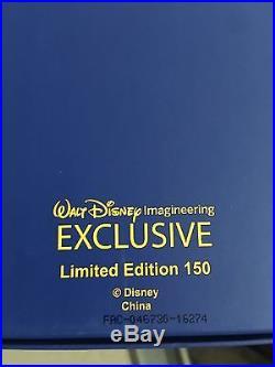 Wdi D23 Disney Beauty Beast Belle 25th Anniversary Enchanted Rose Jumbo Pin 150