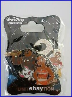 Wdi D23 Disney Moana Character Cluster Maui Pua Hei Hei Gramma Tala Pin Le 250