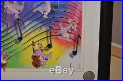 Wdw Disney Epcot Event Musical Figment Framed Le 500 6 Pins Set