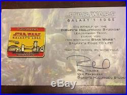 Wdw Disney World STAR WARS GALAXYS EDGE 2019 Landing OPENING CAST MEMBER PIN