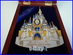 Wdw Super Jumbo 50th Cinderella Castle Happiest Celebration On Earth Disney Pin